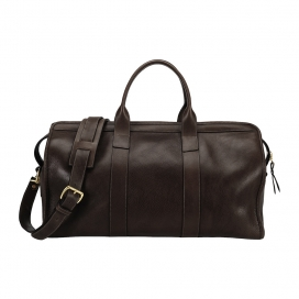 Lotuff Travel Duffle with Shoulder Strap Chocolate