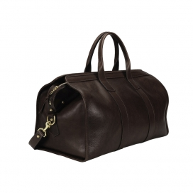Lotuff Duffle Travel Bag-Chocolate