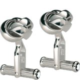 Montblanc Platinum Knot Cufflinks