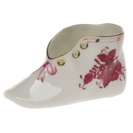 Herend Chinese Bouquet Raspberry Shoe
