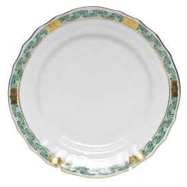 Herend Chinese Bouquet Green B&B Plate
