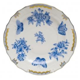 Herend Fortuna Blue Salad Plate