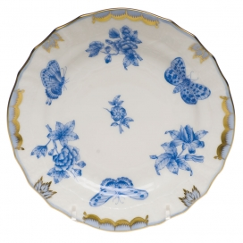 Herend Fortuna Blue Bread and Butter Plate