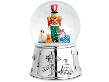 Reed & Barton Toy Soldier Snowglobe