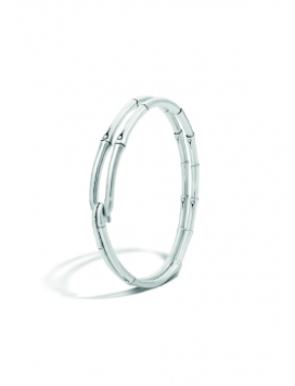 John Hardy Bamboo Silver Hook Bracelet