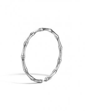 John Hardy Bamboo Silver Slim Bracelet M