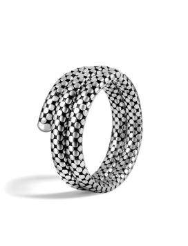 John Hardy Dot Double Coil Bracelet