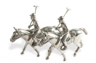 Vagabond House Polo Player Salt & Pepper Set/2