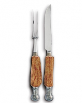 Vagabond House Antler King Crown Carving Set