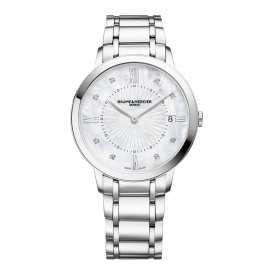 Baume & Mercier Classima 36mm Stainless Steel MOP