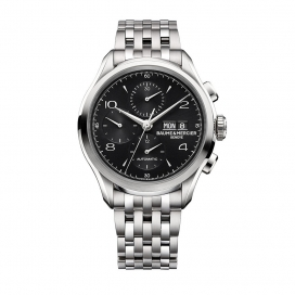 Baume & Mercier Clifton Chronograph Stainless