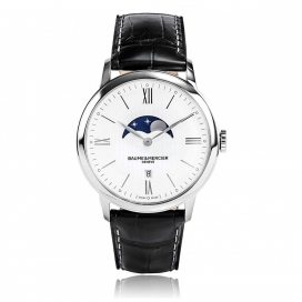 Baume & Mercier Classima Moon Phase Stainless