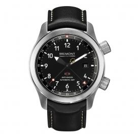 Bremont Martin Baker Steel 43mm Black Dial GMT Aut