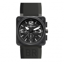 Bell & Ross BR 01-94 Black Carbon Chronograph