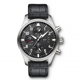 IWC Pilot's Chronograph Stainless Steel