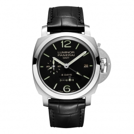 Panerai Luminor 1950 8 Days GMT Steel 44mm PAM0023