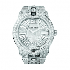 Roger Dubuis Velvet White Gold Diamond Bracelet
