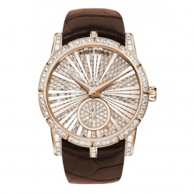 Roger Dubuis Excalibur 36mm Rose Gold with Diamond
