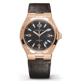 Vacheron Constantin Overseas Time Only Rose Gold