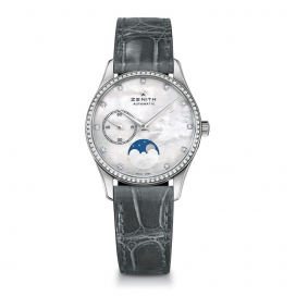 Zenith Elite Ultra Thin Lady Moonphase Stainless
