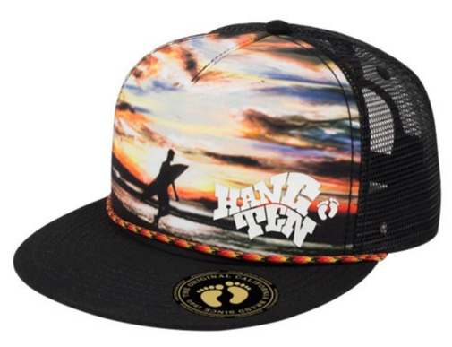 Hang Ten Foam Trucker Cap