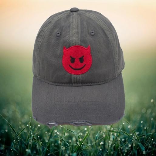 Devil Emoji Hat