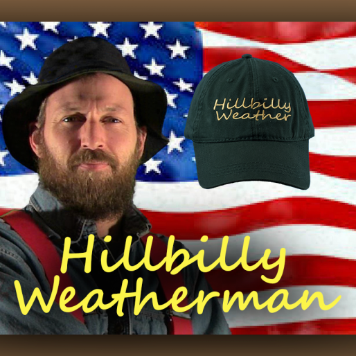 Limited Edition Green Hillbilly Weatherman