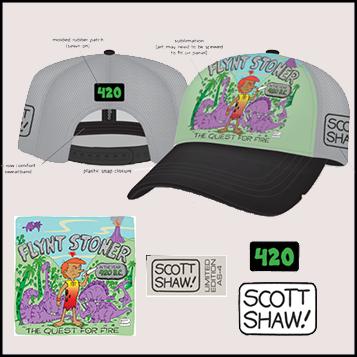 Limited Edition Scott Shaw