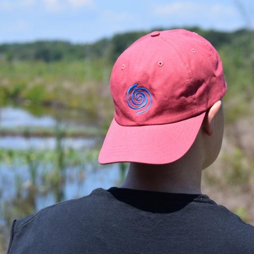 Water Swirl Hat