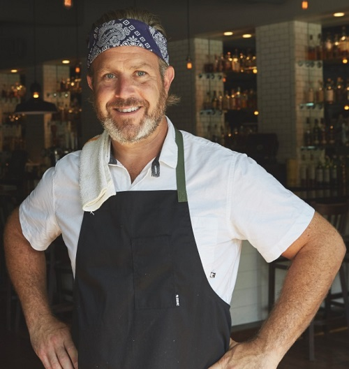 Chef Chad Rosenthal Nogginwear Hat Collaboration
