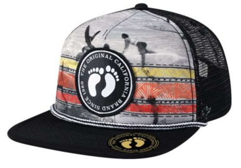 Hang Ten Sublimated Foam Trucker Cap
