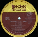 The Circle City Band-My Place (Becket Records)