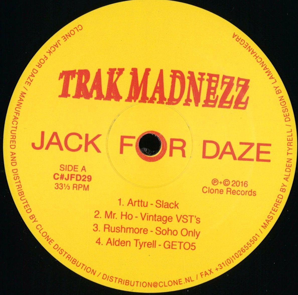 V.A. - Trak Madnezz (Jack For Daze)