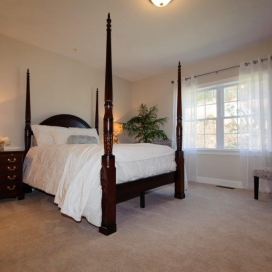 Both the Single Family and Condominium homestyles at Academy Hill offer a spacious Master Suite.