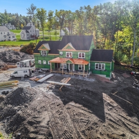 Academy Hill New Home Build Oct. 2019