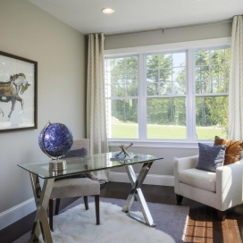 Many of the homestyles at Academy Hill offer a 1st Floor Study retreat, perfect for working from home - or homework!