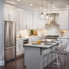 Personalize your new home from our designer Builder's Selections, and further enhancements like soffited cabinetry.