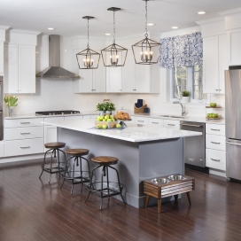 Welcome to the heart of your new Single Family home, featuring Granite or Quartz Countertops, counter-height island, GE Stainless Steel Appliance Suite and recessed lights.