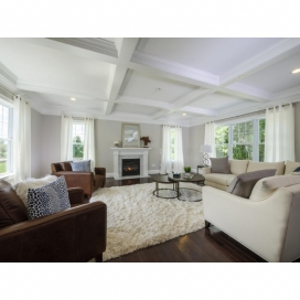 Hardwood Flooring is also featured in the Great Room of all Single Family homestyles.
