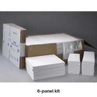 6 Panel Foam Shippers