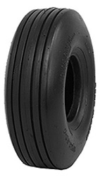 22x725-1150 8 Ply Dunlop Rib Tread Tire