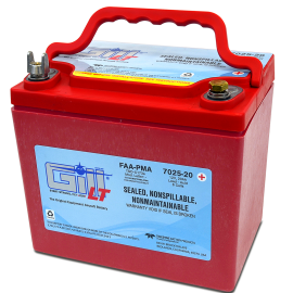 7025-20 LT Sealed Battery Extreme Cranking Power