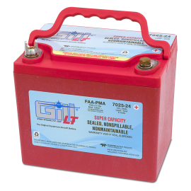 7025-24 LT Sealed Battery Super Ah Capacity