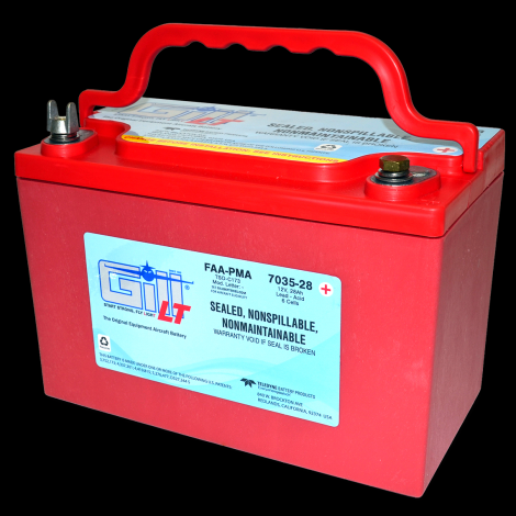 7035-28 LT Sealed Battery Extreme Cranking Power
