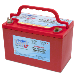 7035-34 LT Sealed Battery Super Ah Capacity