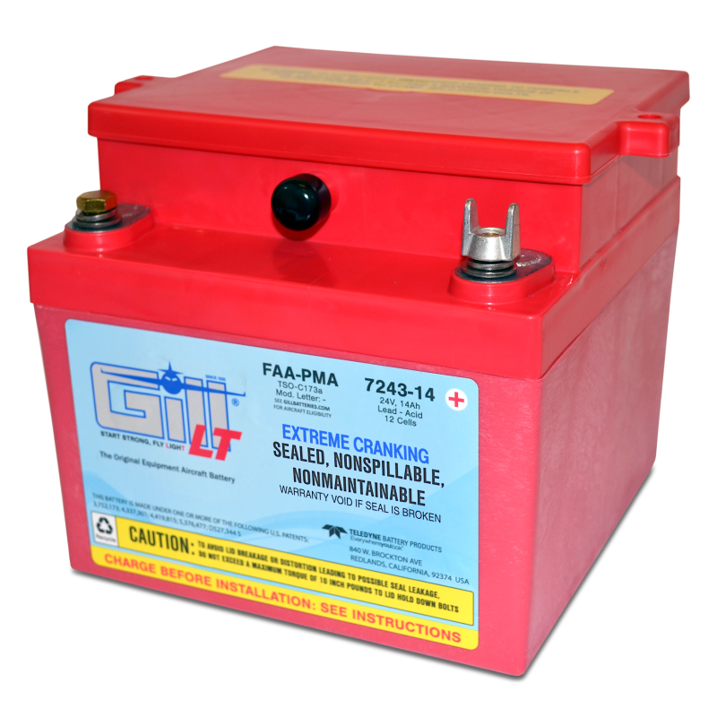 7243-14 LT Sealed Battery Extreme Cranking Power