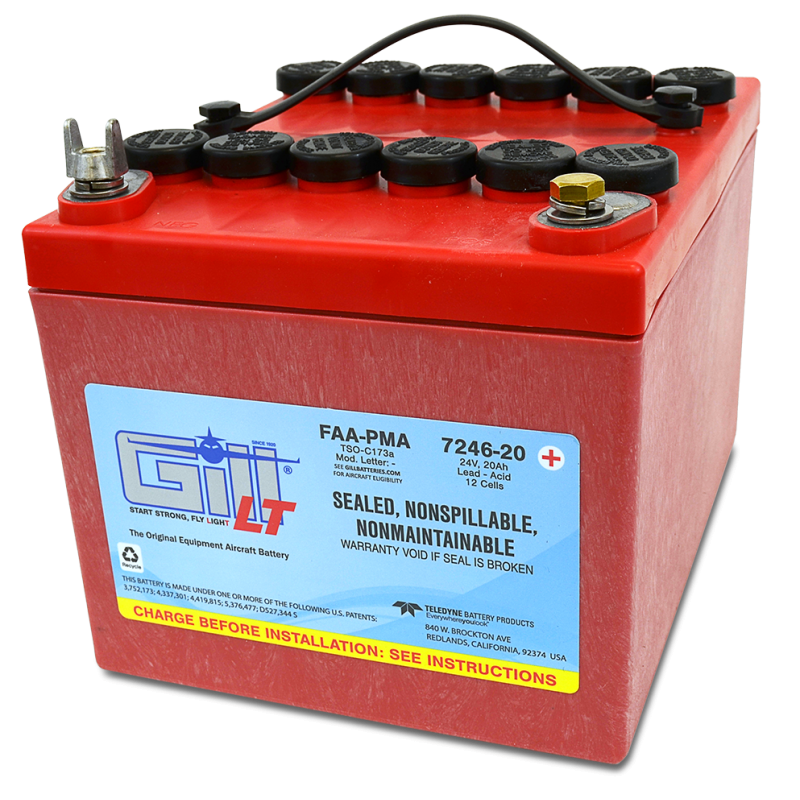 7246-20 LT Sealed Battery Extreme Cranking Power