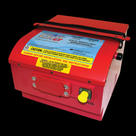 7407-28 LT Sealed Battery Helicopter Use