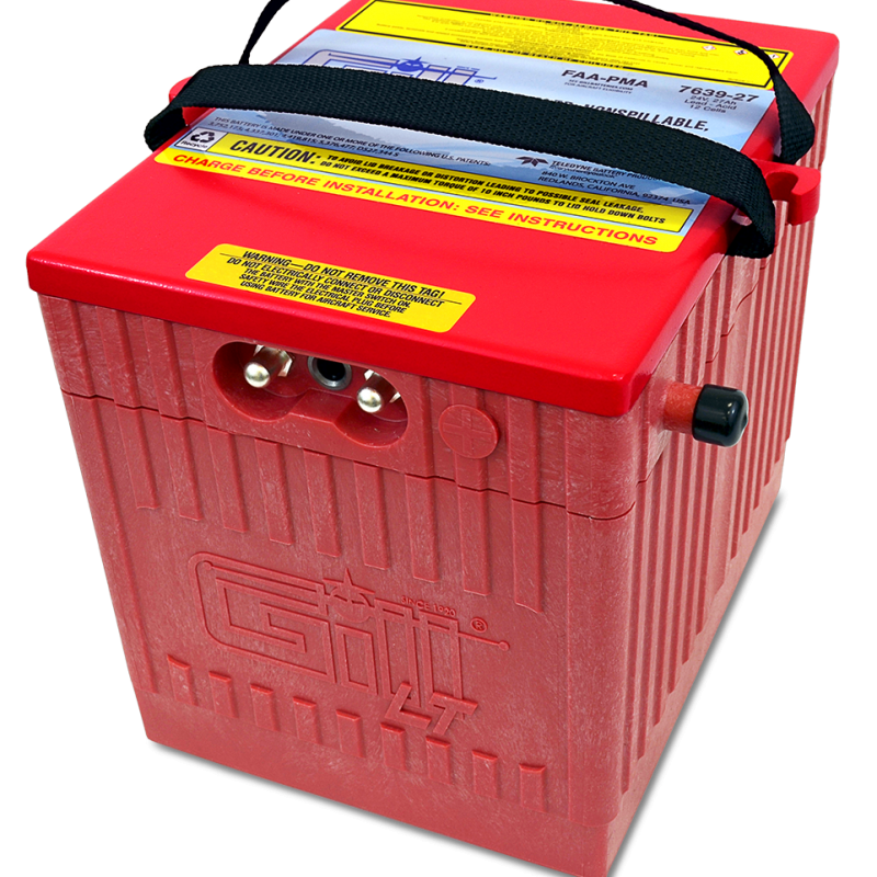 7639-27 LT Sealed Battery Lighweight, High Capacity