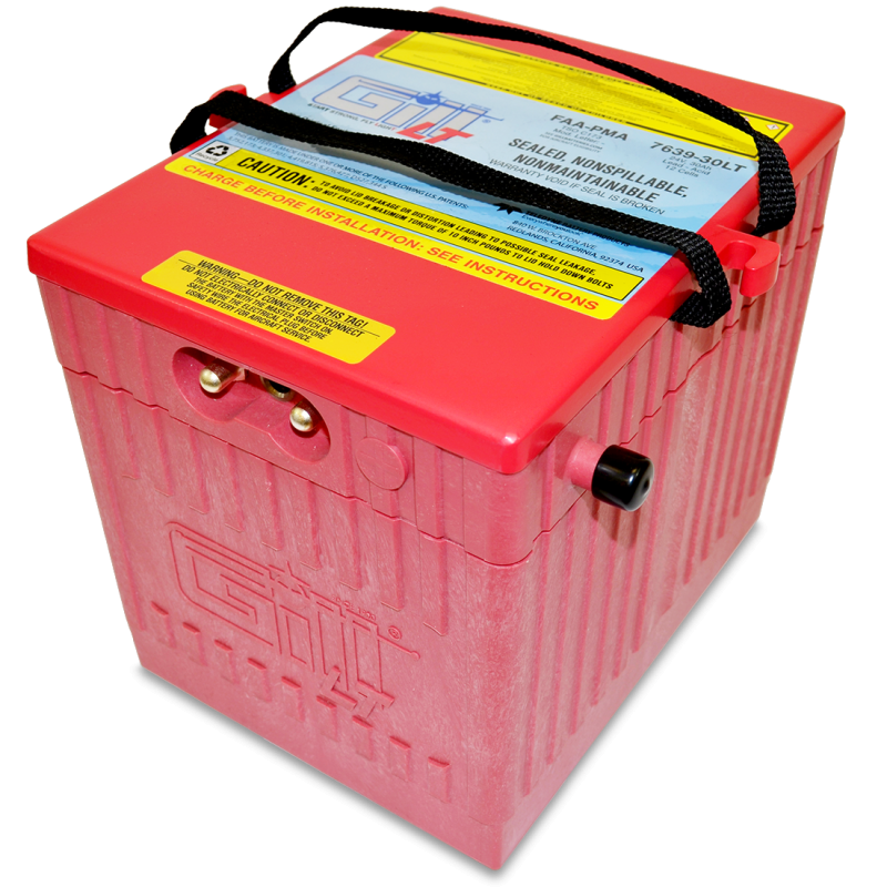 7639-30 LT Sealed Battery Extreme Cranking Power-BizJet